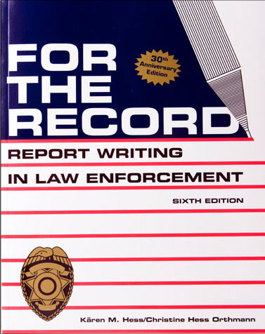 For The Record - Law Enforcement